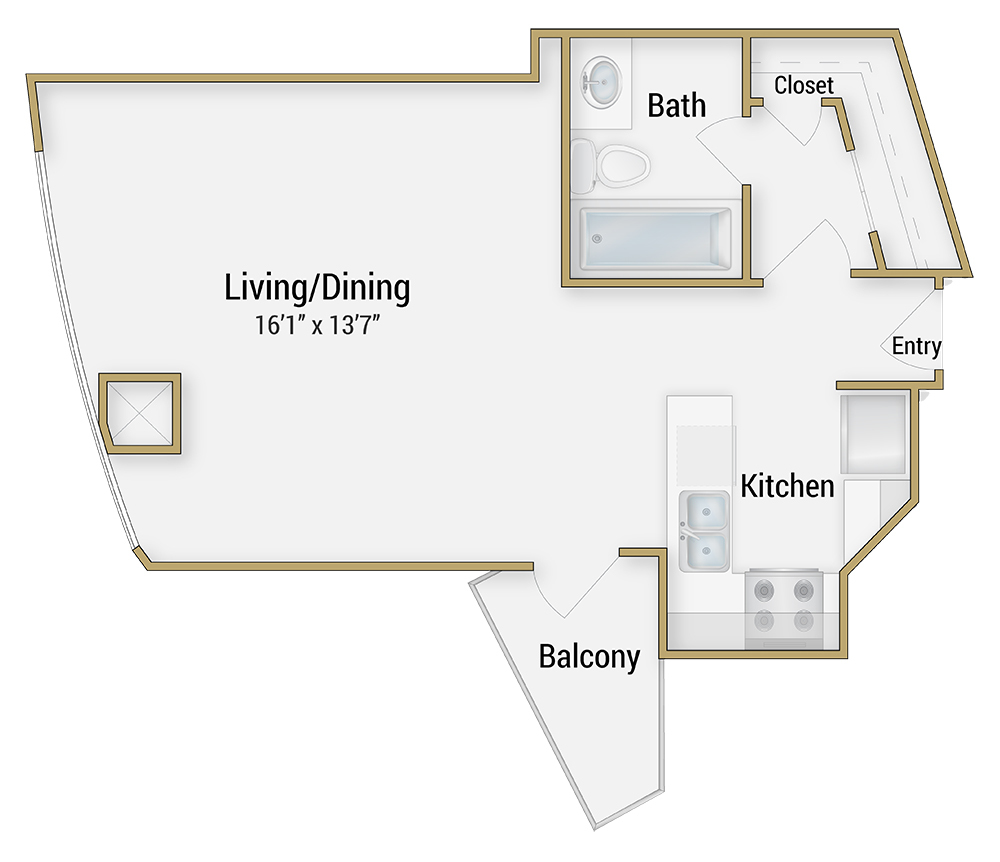 San Francisco Apartment Floor Plans