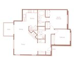Brentwood floorplan graphic