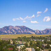 View the Broomfield Mountains - RockVue Apartments
