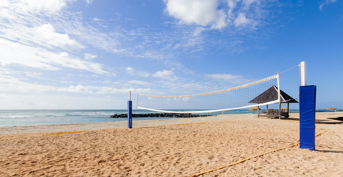 Photo slideshow: Beach Volleyball Courts