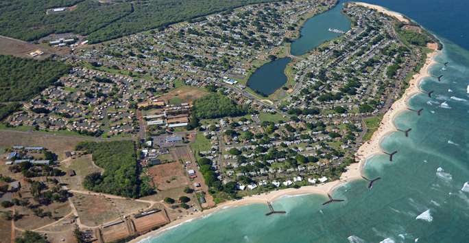 Photo slideshow: Waterfront Community Ariel View