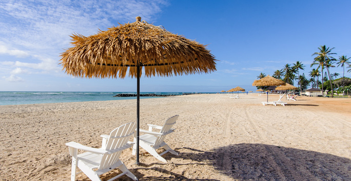 Photo slideshow: Beach Palapas and Lounge Chairs