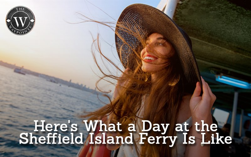 Here's What a Day at the Sheffield Island Ferry Is Like